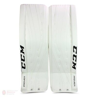 $799.99 • Buy New CCM Premier Pro Senior Ice Hockey Goalie Leg Pads 35 +2 All White Sr Goal Wt