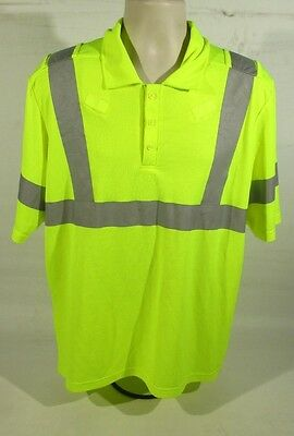 £9.99 • Buy Ex Police KIT Hi Vis Short Sleeve Cycle T-Shirt With Reflective Strips