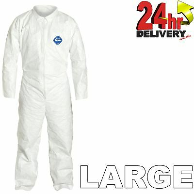 £11.95 • Buy 1 X DuPont Tyvek Classic Painters Disposable Overall - Size L Sprayers Coverall