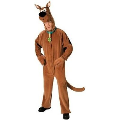 Adult P/f Scooby Doo Ns - Fancy Dress Costume Rubies Standard Me Official Size • 50.99£