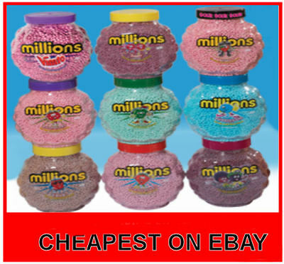 £5.79 • Buy Full Jars Millions Sweets WHOLESALE DISCOUNT Treats Party Retro Candy