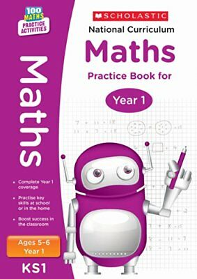 £2.98 • Buy National Curriculum Mathematics Practice - Year 1 (100 Lessons - 2014 Curricul,