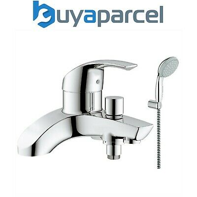 Grohe 25105 Eurosmart Deck Mounted Single Lever Bath Shower Mixer 27799 Head Set • 169.99£