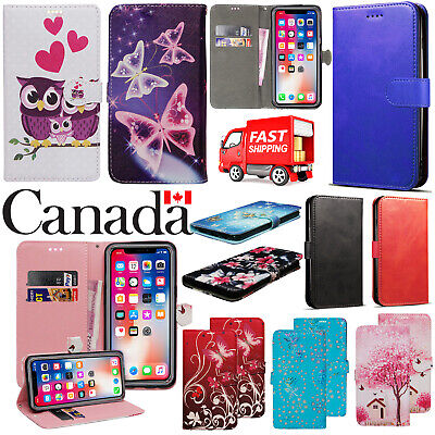 $ CDN5.49 • Buy For Apple IPhone 7 8 Plus XR XS 11 Pro Max SE PU Leather Flip Wallet Case Cover