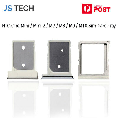AU6.66 • Buy New Replacement Sim Card Tray For HTC One M7 M8 M9 M10 10 One Mini Mini 2