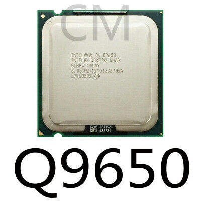 $ CDN37.91 • Buy Intel Core 2Quad  Q9400 Q9500 Q9505 Q9550 Q9650 Processor