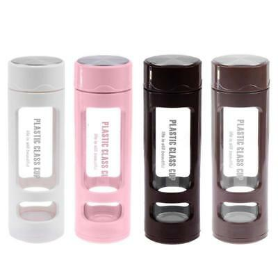 Water Bottle Tea Infuser Leakproof Stainless Filter Portable Glass Sport Tumbler • 11.96£