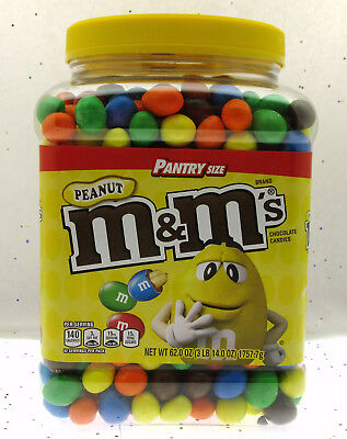 $26.69 • Buy Peanut M&M's Brand Chocolate Candies M And M ~ Candy ~ 62oz Pantry Size
