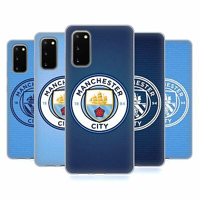 Official Manchester City Man City Fc Badge Pixels Gel Case For Samsung Phones 1 • 12.95£