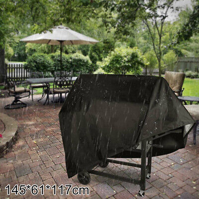 £8.99 • Buy Large Heavy Duty BBQ Cover Garden Patio 2 4 Burner Barbecue Grill Storage