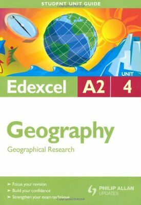 £1.97 • Buy Edexcel A2 Geography Student Unit Guide: Unit 4 Geographical Research (Student,