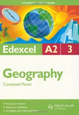 £1.97 • Buy Edexcel A2 Geography: Unit 3: Contested Planet (Student Unit Guides),Sue Warn,