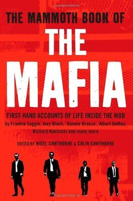 The Mammoth Book Of The Mafia (Mammoth Books),Nigel Cawthorne • 2.58£