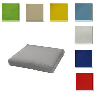 Custom Made Cover Fits IKEA HÅLLÖ Seat/Back Pad, Water Proof Cushion Cover • 14.30£