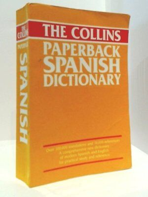 The Collins Paperback Spanish Dictionary,unknown • 2.47£