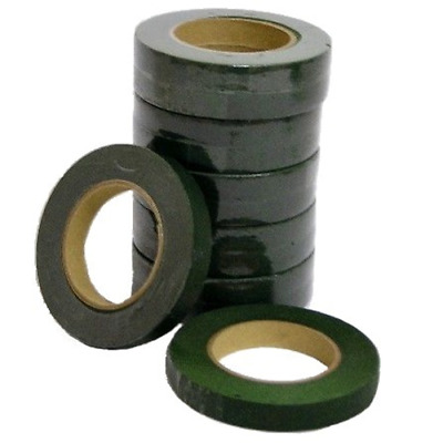 £1.99 • Buy Green Florist Stem Tape Wire Floral Floristry Work Corsages Button Holes Craft
