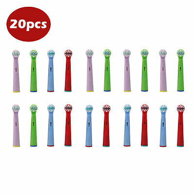 AU22.99 • Buy 20X Kids Children Electric Toothbrush Replacement Heads For Braun Oral B EB-10A