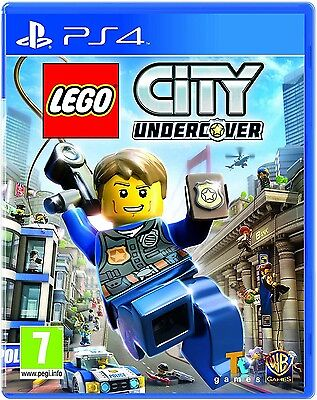 AU28.58 • Buy LEGO City Undercover PS4 - 7+ Game For PlayStation 4 PAL UK  Brand New & Sealed