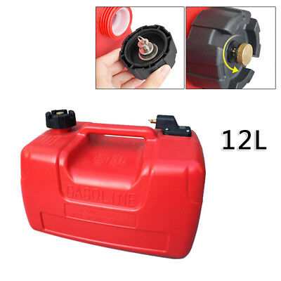 $55 • Buy 12L 3.2 Gallon For Yamaha Boat Marine Outboard Portable Fuel Tank W/ Connector