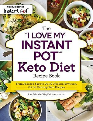 $14.09 • Buy The I Love My Keto Instant Pot Ketogenic Diet Recipe Book New Cookbook WT75819