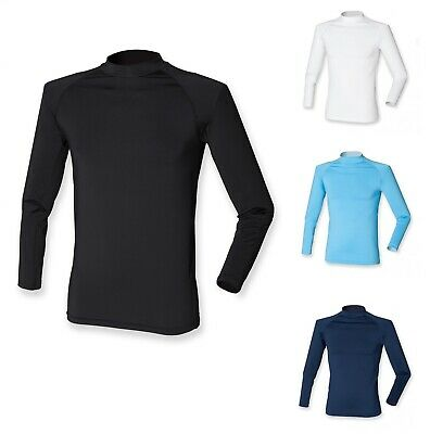 Finden & Hales Long Sleeve Team Mens Base Layer T-Shirt Top LV260 • 3.99£