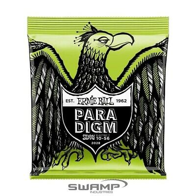 AU32.49 • Buy Ernie Ball PARADIGM Regular Slinky 7-String Electric Guitar Strings - 10-56