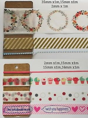 AU2.60 • Buy Christmas Washi Tape Special Edition Subpack Twin Pack XMAS