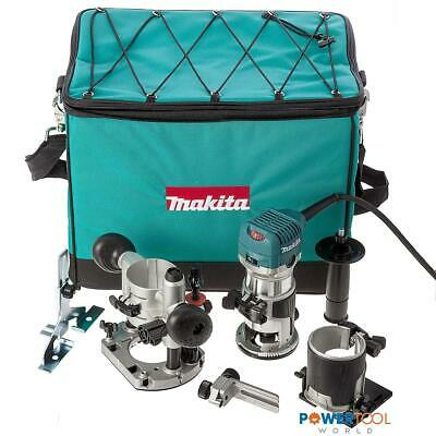 Makita RT0700CX2 Router / Trimmer With Bases 240v • 224£
