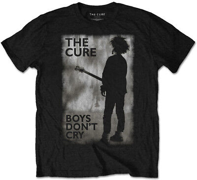 £13.99 • Buy The Cure 'Boys Don't Cry Poster' T-Shirt - NEW & OFFICIAL!