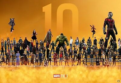 Marvel Characters - Comic Book Wall Art Large Poster / Canvas Picture Prints • 16.99£