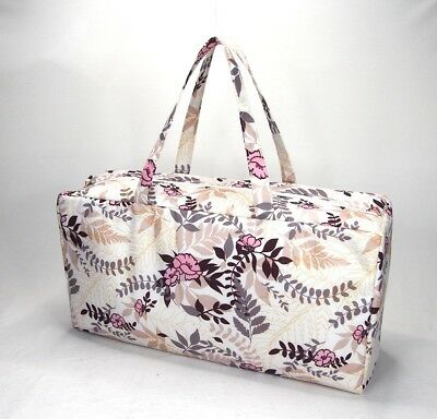 Knitting Bag Wool / Yarn / Craft Storage Bag Pretty Floral Design • 14.99£