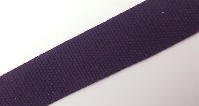 Canvas Tape 32mm Wide Various Lengths 1.5mm Thick Bag Handle Strapping Belt Etc • 4.13£