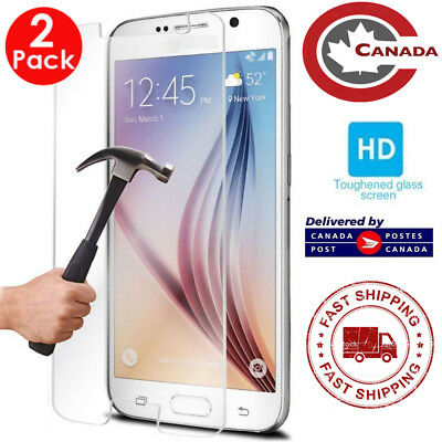 $ CDN6.25 • Buy 2X Pack - For Samsung Galaxy S7 Premium Tempered Glass Guard Screen Protector
