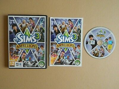 Sims 3 Ambitions Expansion Pack PC/ MAC Game - Simulation Role Play RPG • 4.49£