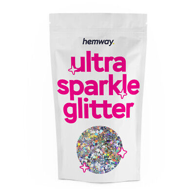 Large Silver Holographic Glitter Mixed 20ml 10g Chunky Multi Dance Costume Flake • 3.99£