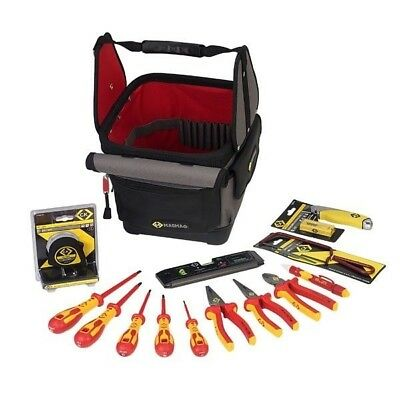 CK Tools T5952 Electricians Tool Tote Kit • 169.44£
