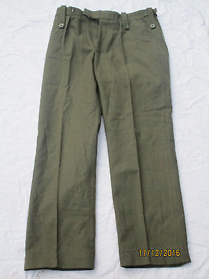 £13.49 • Buy Uniform Man ´S Lovat Worsted, Royal Marines, Trousers, Size Approx. 77/84/100