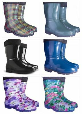 New Wellington Boots Womens Ladies Wellies Waterproof Walking Gardening Rain • 16.99£