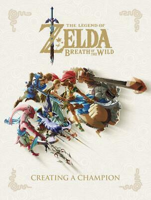 AU54.49 • Buy The Legend Of Zelda: Breath Of The Wild - Creating A Champion By Nintendo (Engli