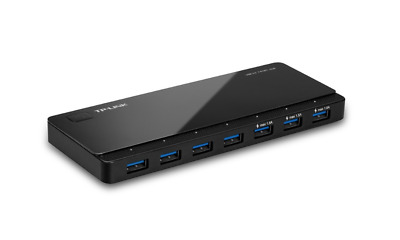 AU114.43 • Buy New Tp-link: Uh700 Usb 3.0 - 7-port Hub Networking Switches Computer Accessories