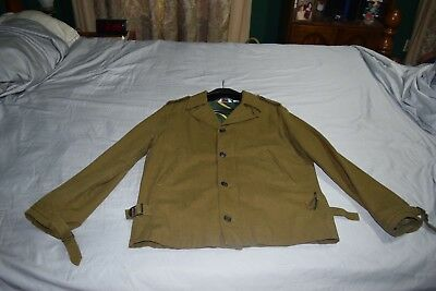 $50 • Buy Wool Blend Military Jacket Size  M