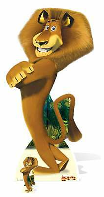Alex The Lion From Madagascar Lifesize And Mini Cardboard Cutout / Standup  • 37.29£