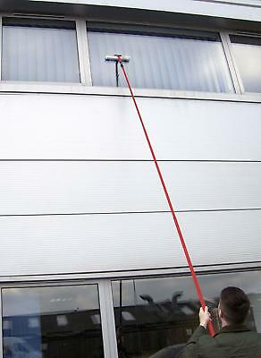 EXTRA LONG Telescopic Window Conservatory Cleaner UPPER Windows Roof 3.5M POLE • 20.29£