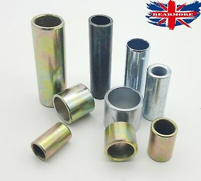 £5.79 • Buy Steel Metal Bush Spacer Sleeve Distance Tube Round Various Size Through Hole