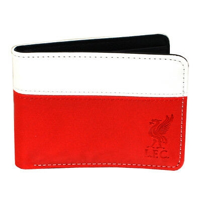 £10.94 • Buy OFFICIAL LIVERPOOL F.C 2 Tone {Debossed} Crest PU Leather Wallet Ideal Gifts