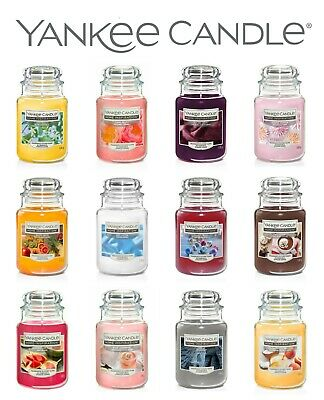 YANKEE CANDLE HOME INSPIRATION LARGE JAR CANDLES 538g BRAND NEW • 20.99£