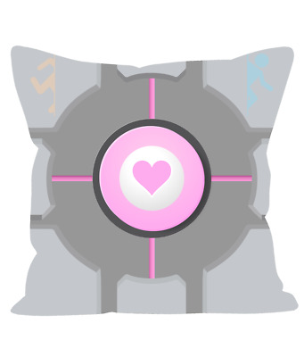 £19.99 • Buy Weighted Companion Cube 12  Sofa Cushion Based On Portal Video Games