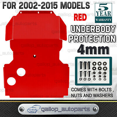 AU165 • Buy Fit For Nissan Navara D22 Bash Plate 4MM Steel Red Guard