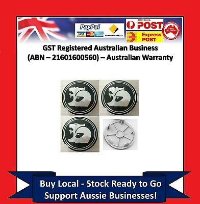 AU29.95 • Buy 4 X Wheel Centre Caps Holden 63mm HSV Coupe V2-VY VZ VE VF EX GTS Commodore CY