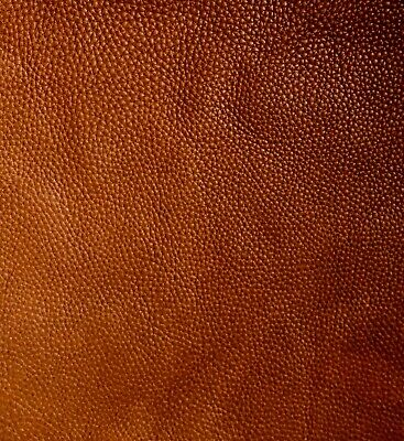 £2.30 • Buy Tan Brown Leather Remnants 1.5mm Full Grain Aniline Soft Cowhide Various Sizes